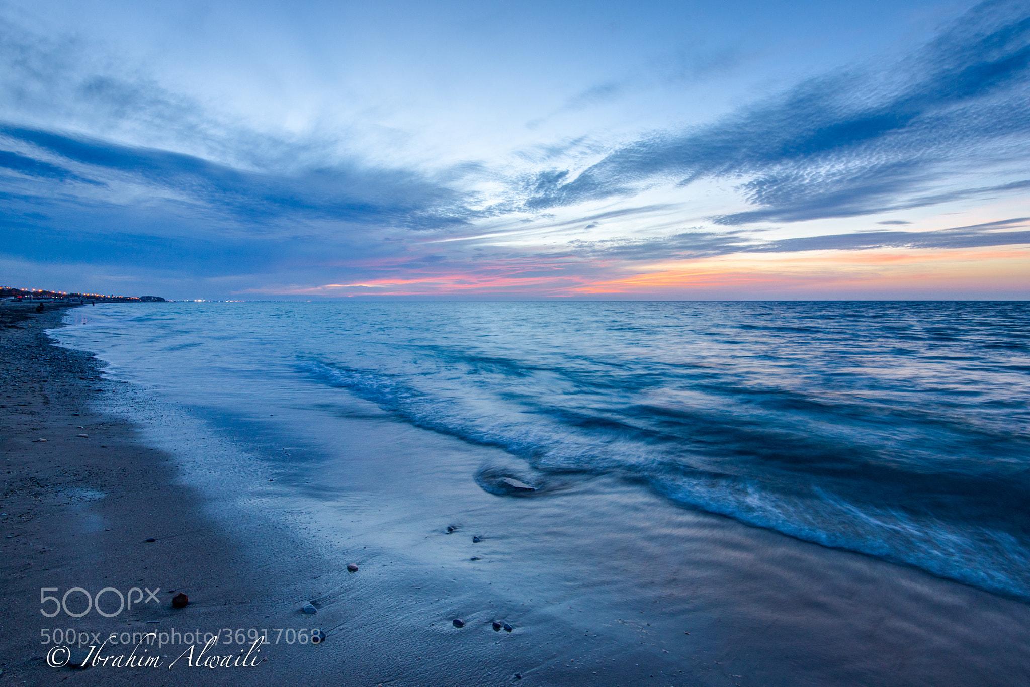 Photograph The Blue Wave by Ibrahim AlWaili on 500px