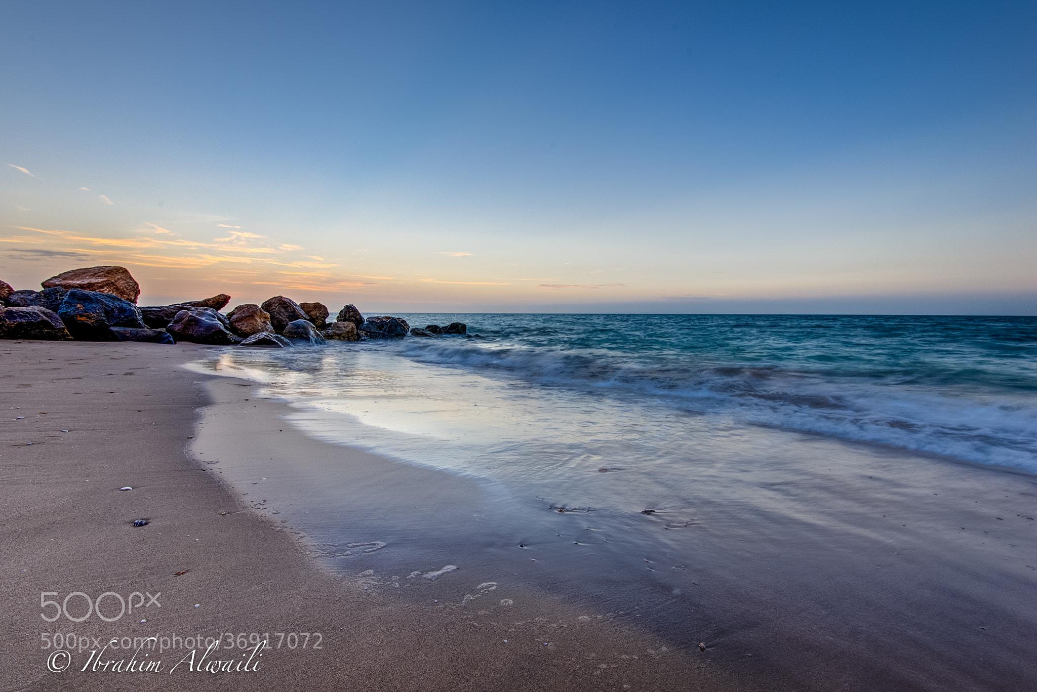 Photograph Sea and Rocks by Ibrahim AlWaili on 500px