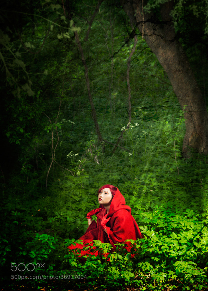 Photograph Little red riding hood by artelumen on 500px
