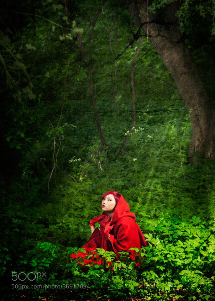 Photograph Little red riding hood by artelumen on 500px