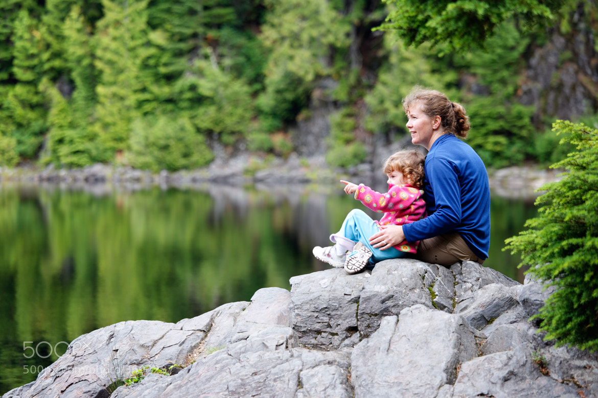 Photograph Family Hiking Moment by Brad Mitchell on 500px