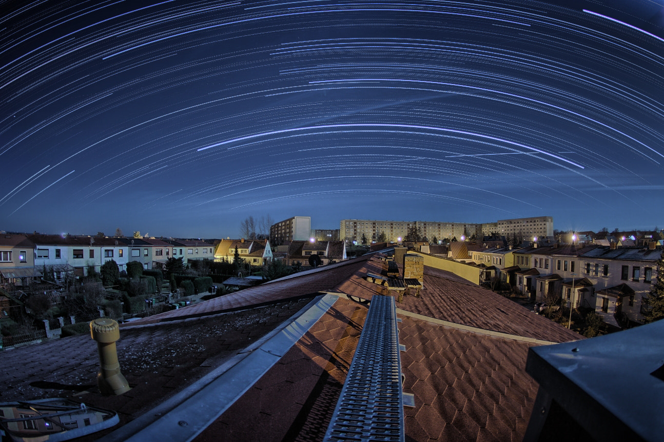 Photograph Startrails @ Home HDR by Maik Thomas on 500px