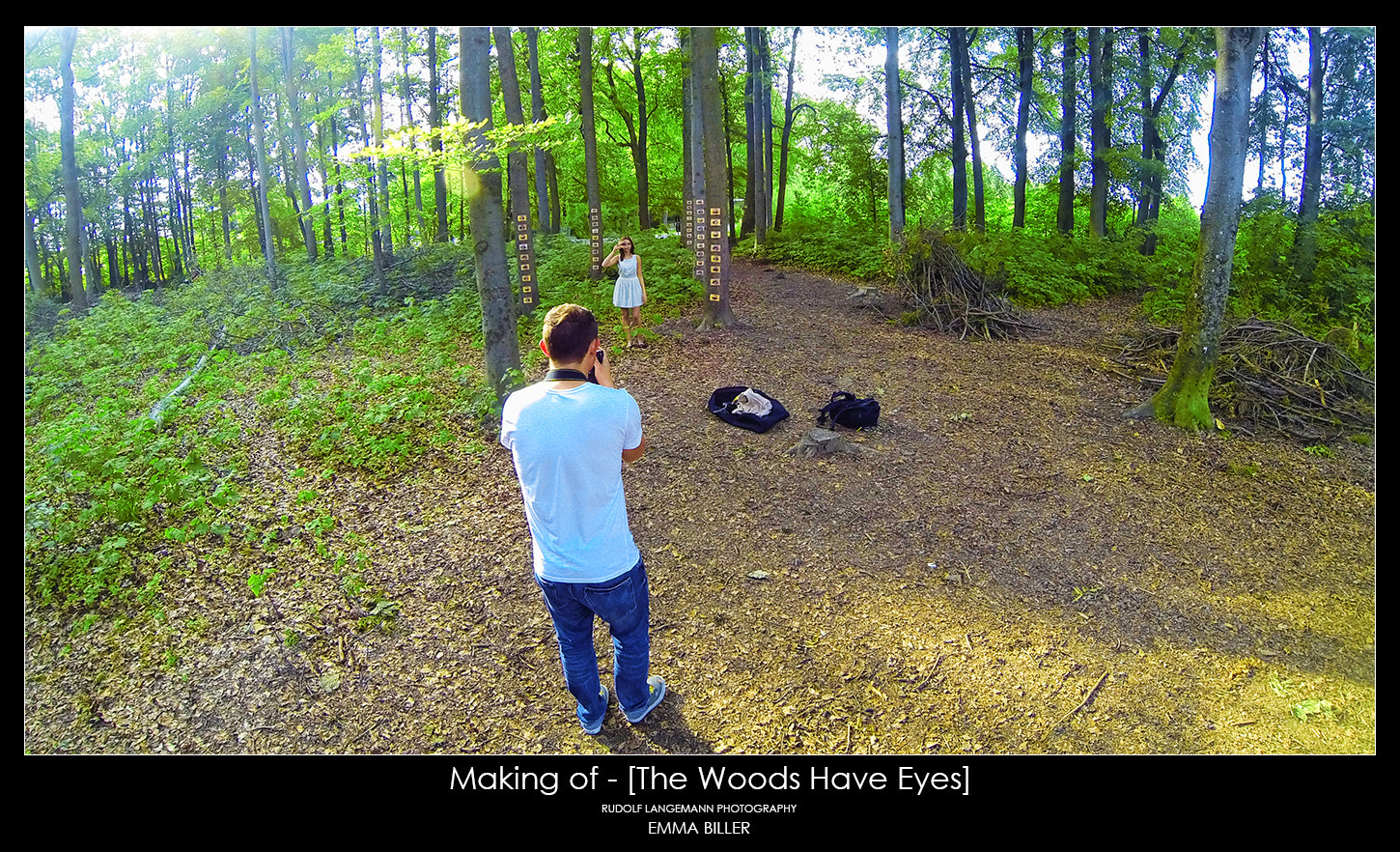 Photograph Making of - [The Woods Have Eyes] by Rudolf Langemann on 500px