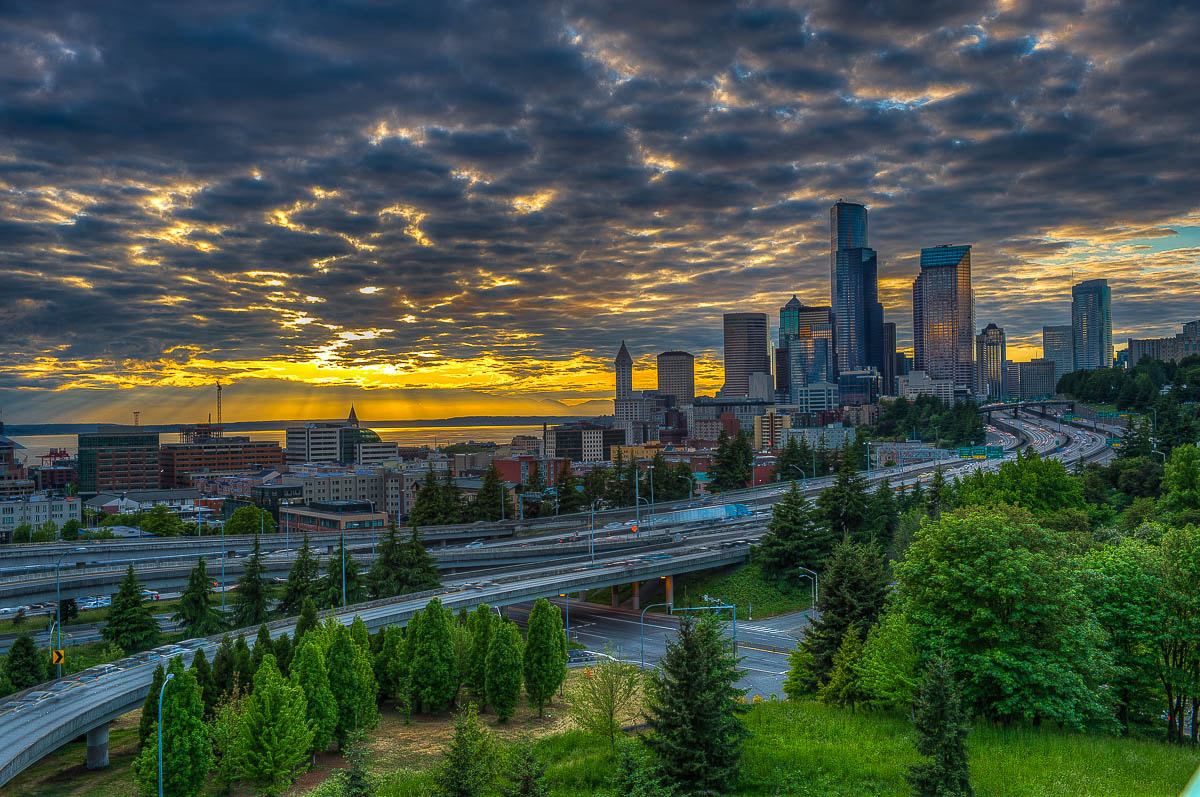 Photograph Sunset in Seattle by Juan Carlos Ruiz on 500px