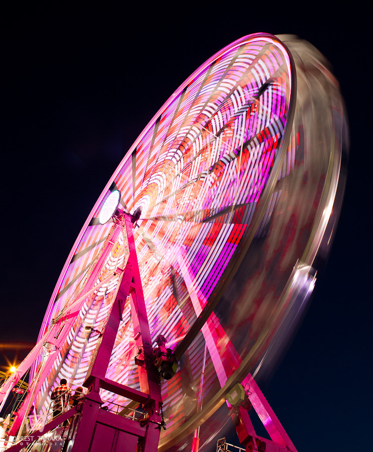 Photograph Alameda County Fair Ferris Wheel by Forrest Tanaka on 500px