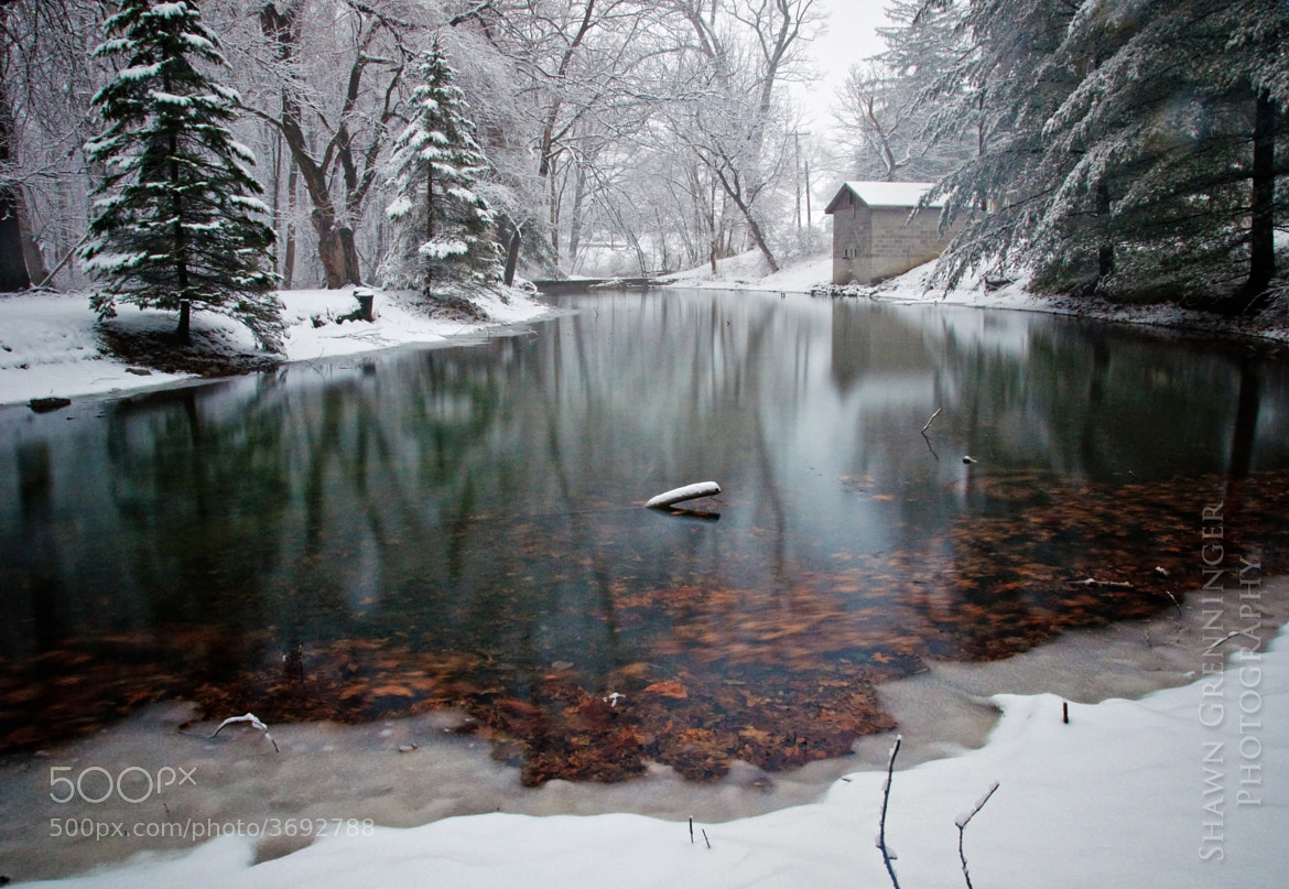 Photograph Belle Springs Winter by Shawn Grenninger on 500px