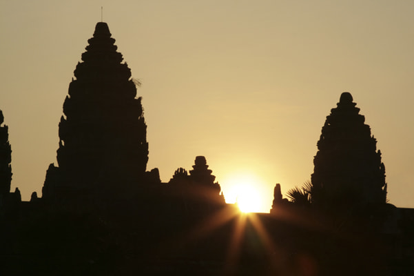 Photograph Angkor Wat Sunrise by John Lander on 500px