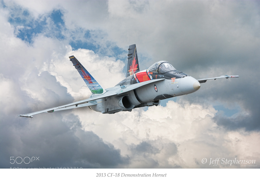 Photograph 2013 CF-18 Demonstration Hornet by Jeff Stephenson on 500px