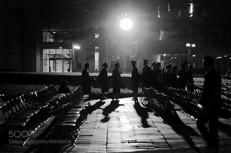 Photograph Night graduates by cljb Y on 500px