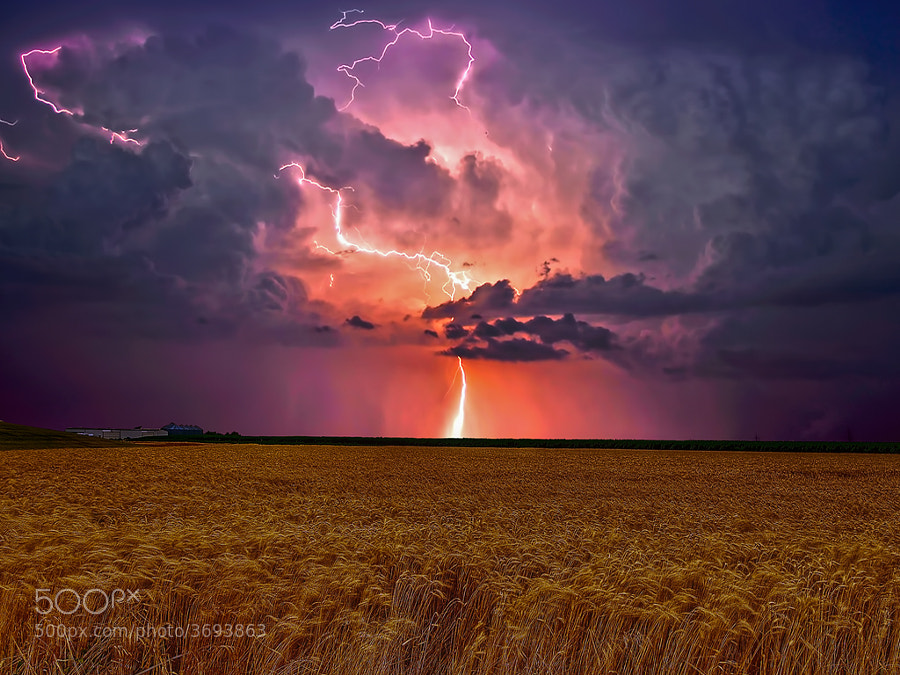 Natures power in the Prairies by Kevin  Pepper (kpepphotography) on 500px.com