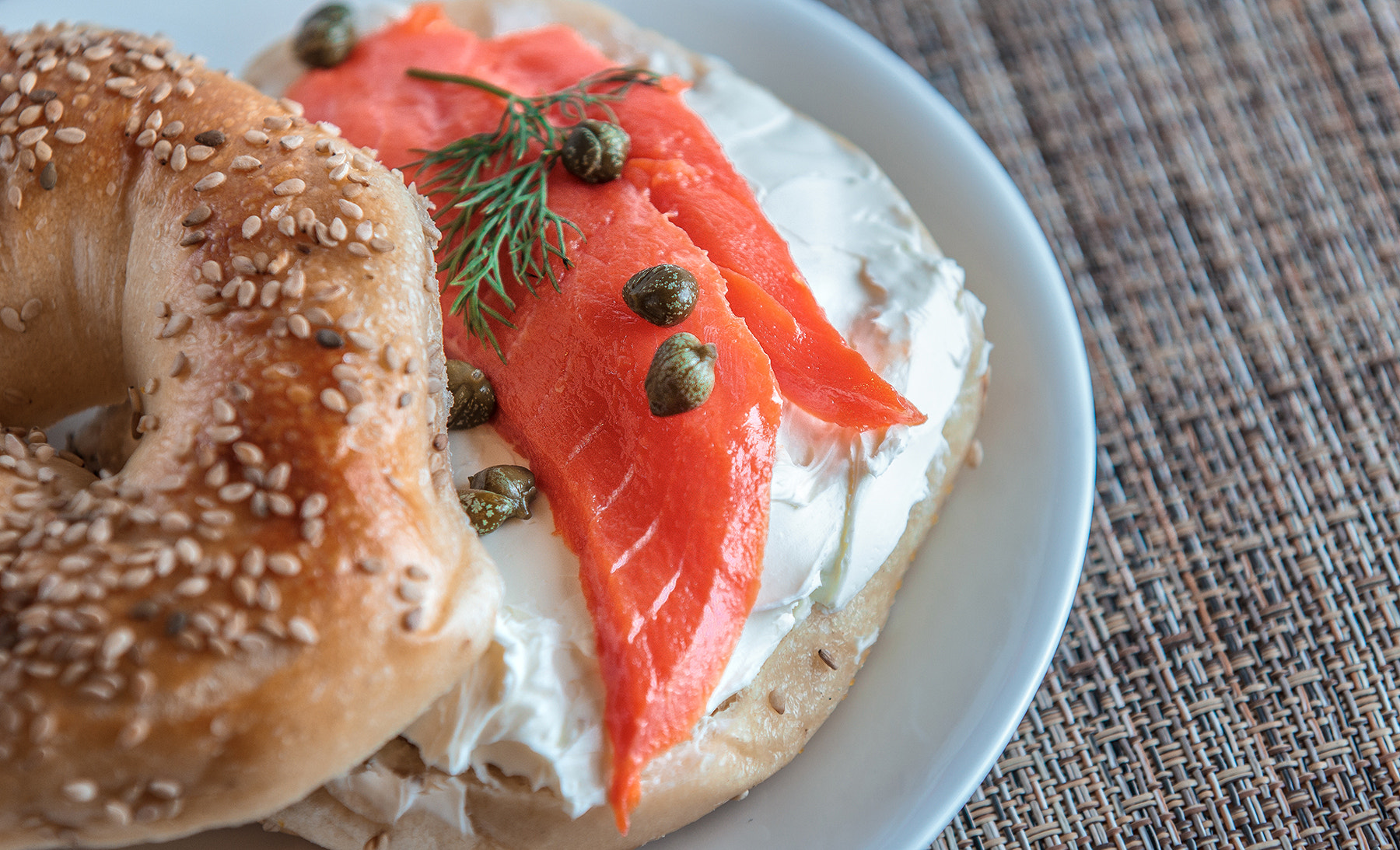 Photograph Sesame Bagel with Lox! by Scott King on 500px