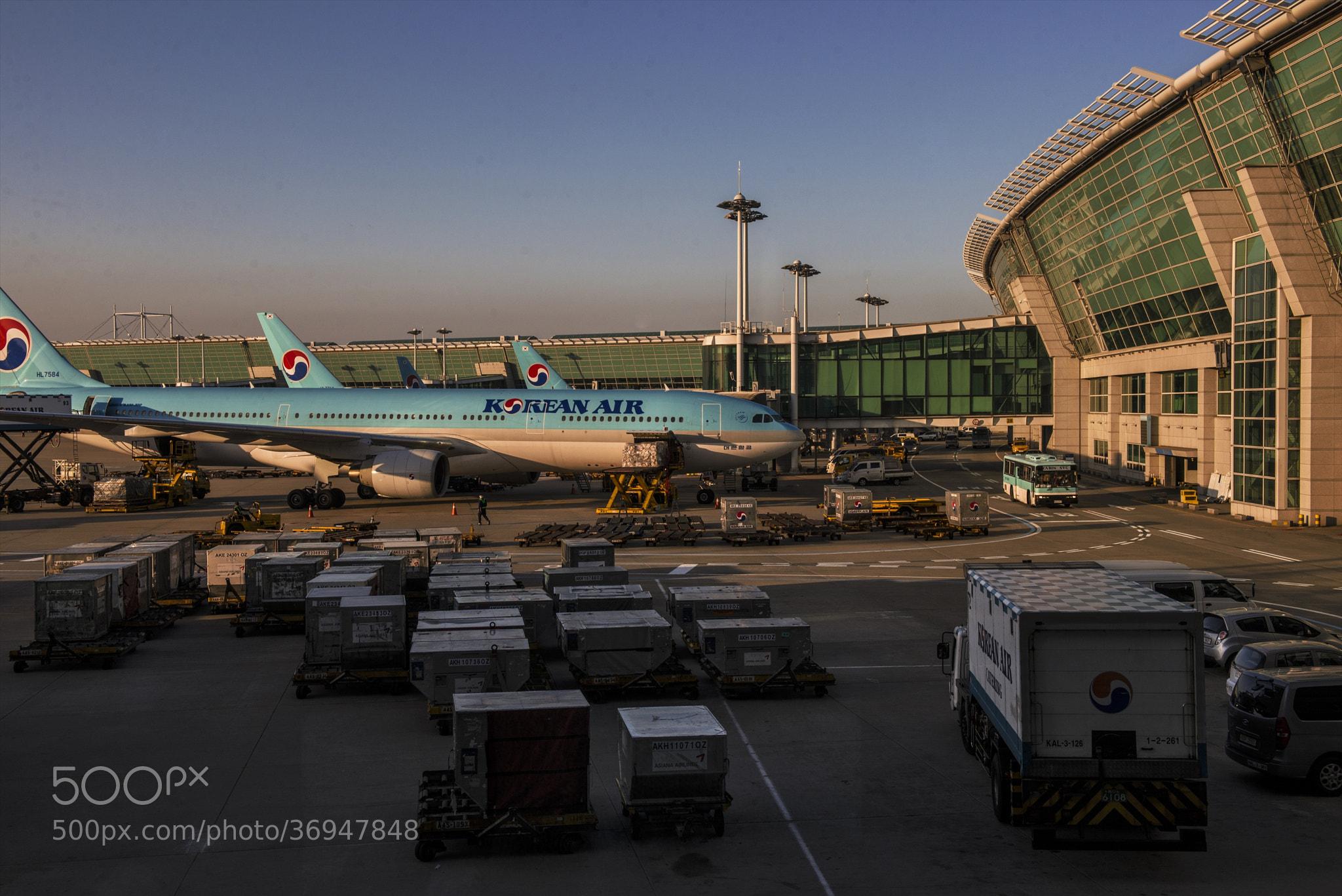Photograph Airport Sunset by hugh dornan on 500px
