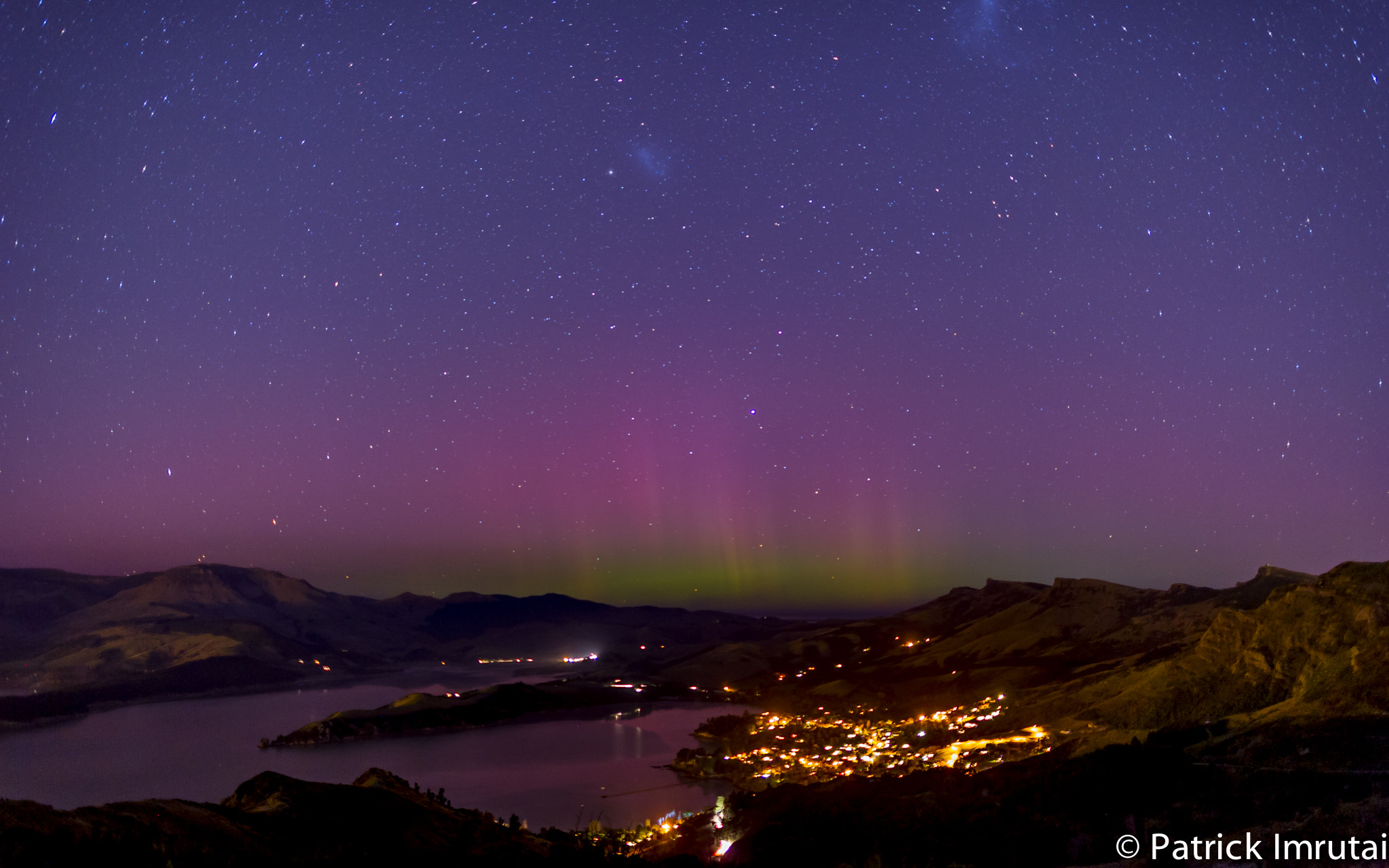 Photograph Aurora australis from New Zealand by Patrick Imrutai on 500px