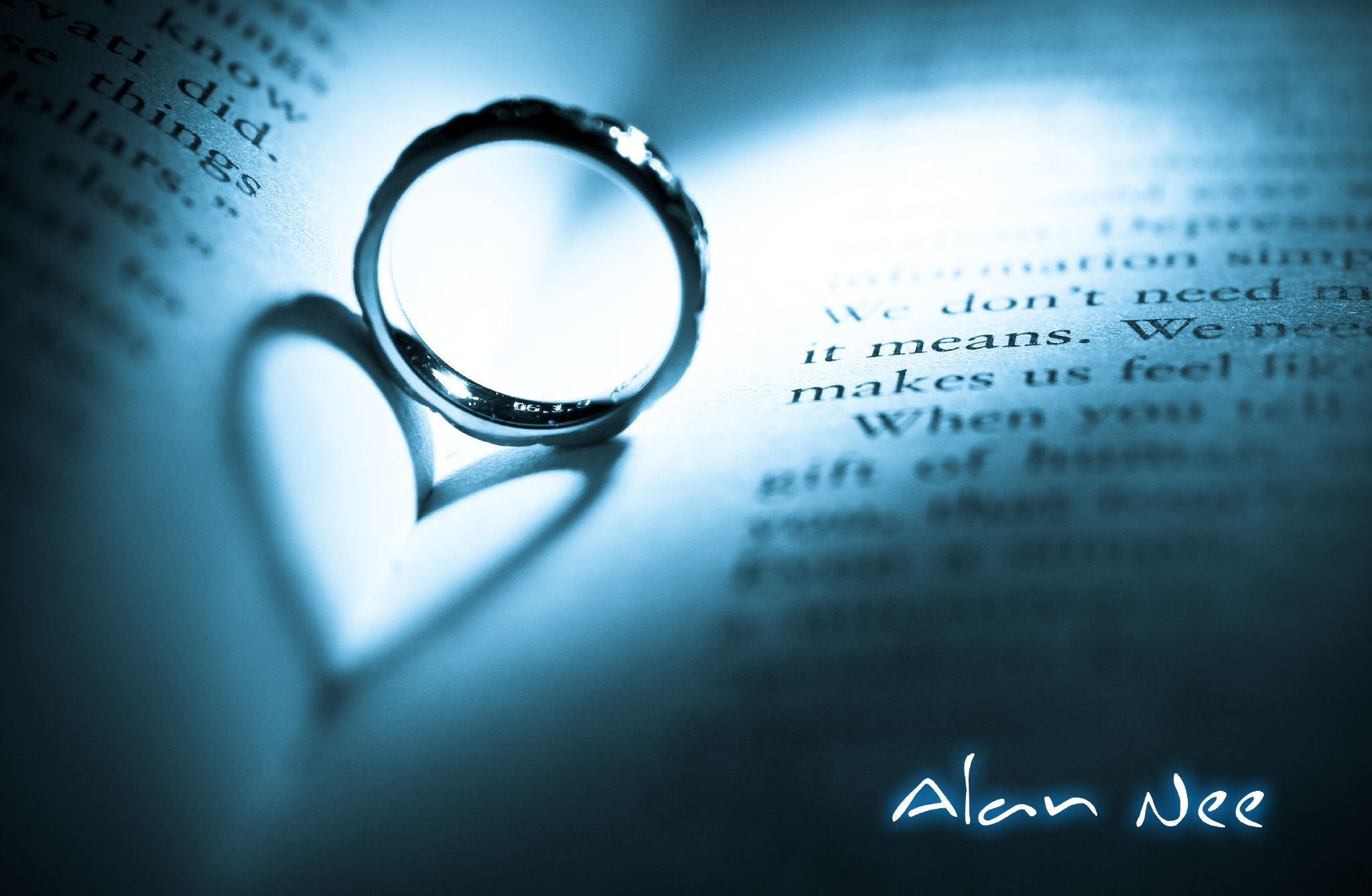 Photograph Ring with a Heart by Alan Nee on 500px
