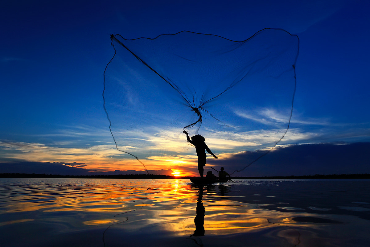 Photograph Colourful nets by Saravut Whanset on 500px