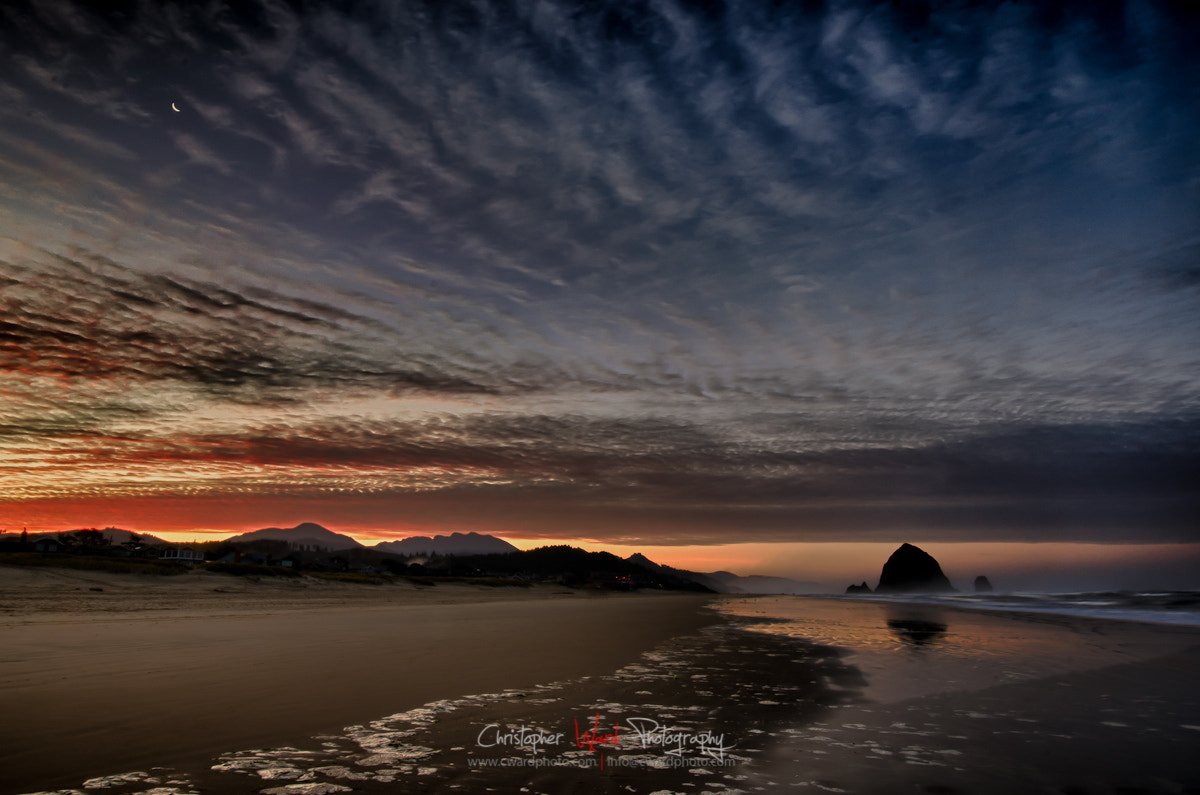 Photograph Hay Stack Rock Sunrise by Chris Ward on 500px