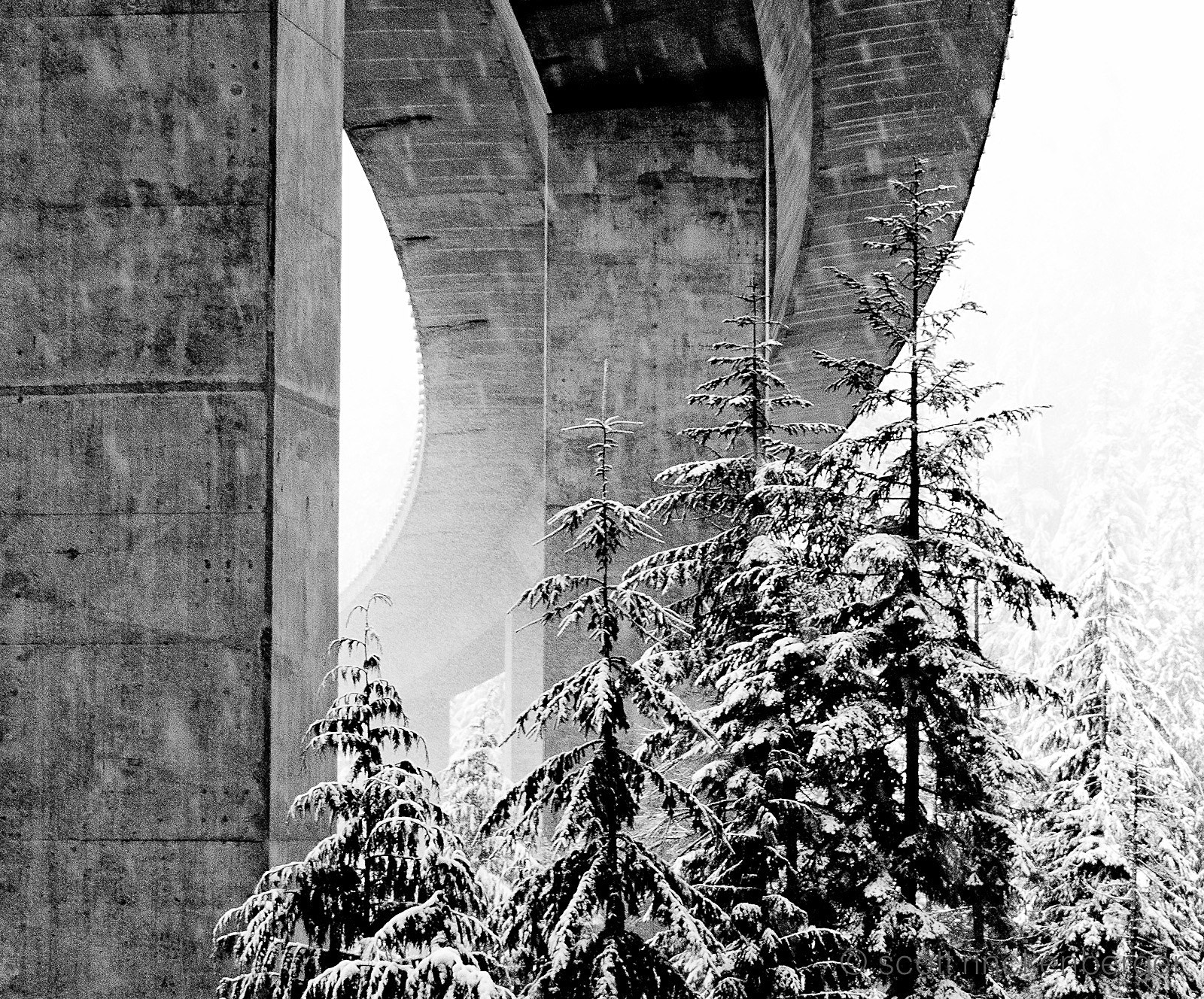 Photograph Winter Bridge by Scott  Rinckenberger on 500px
