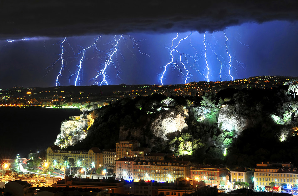Photograph * Storm in Nissa * by clement jousse on 500px