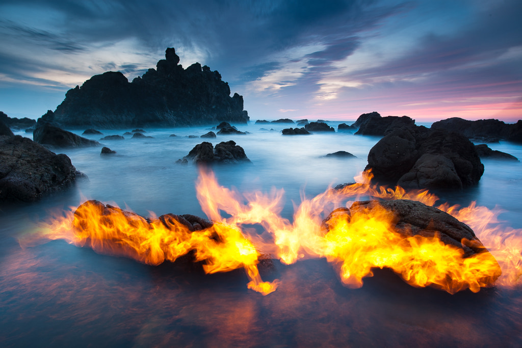 Photograph Playing with fire by Sabin Merino on 500px