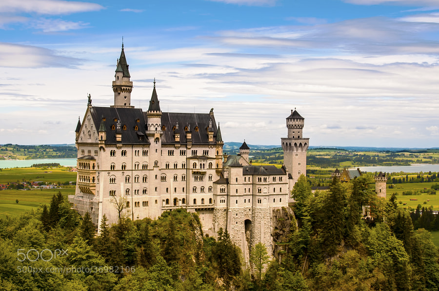 Photograph Schloss Neuschwanstein by Hermes S on 500px