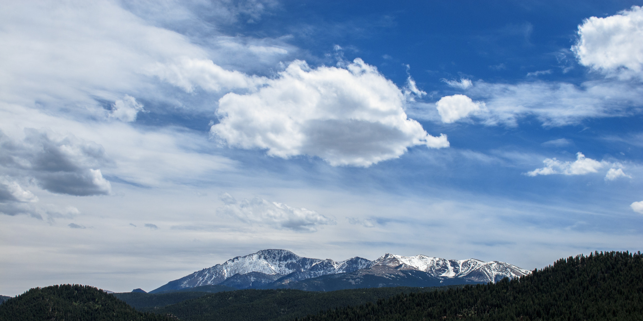 Photograph Pikes Peak by Bill McBride on 500px