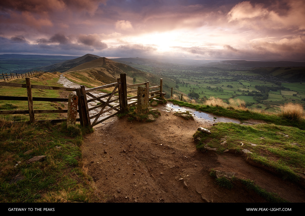 Photograph Gateway to the Peaks by Martin Levers on 500px