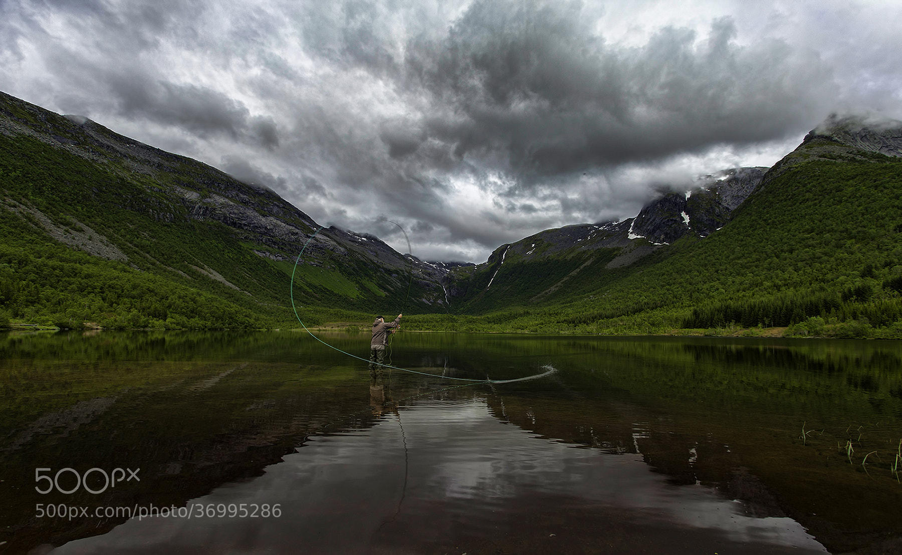 Photograph Fishing in Norway by Tommy  Angelsen on 500px