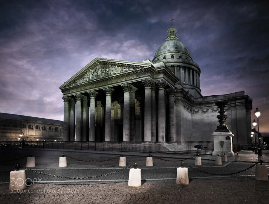 Photograph The Panthéon paris by Ramelli Serge on 500px