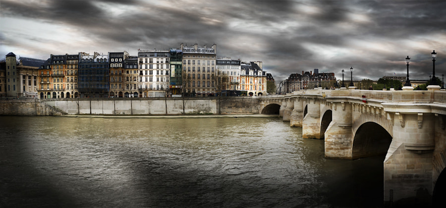 Photograph Panoramic Pont Neuf Bridge by Ramelli Serge on 500px