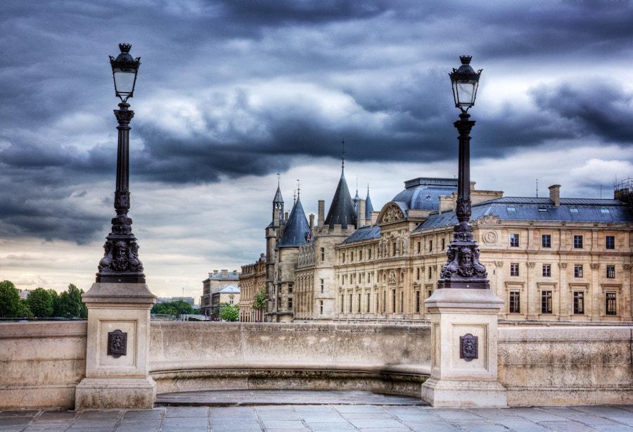 The Conciergerie storm in Paris