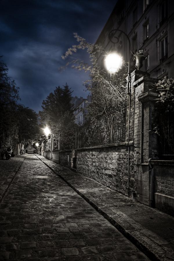 The cité lemercier Paris