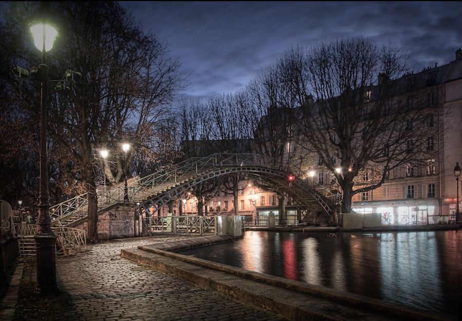 The Canal Saint Martin II Paris