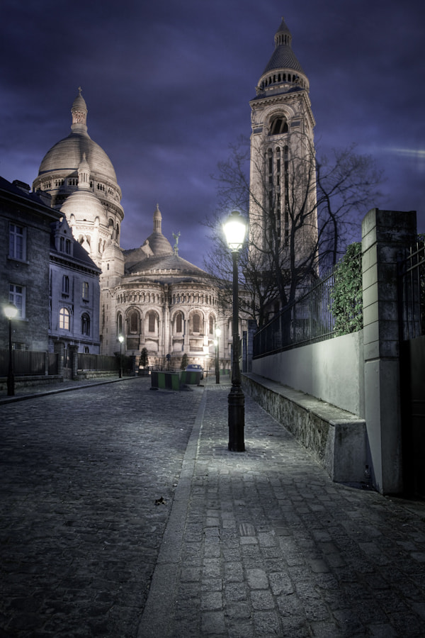 Photograph The back of the Sacré Coeur Montmartre Paris by Ramelli Serge on 500px