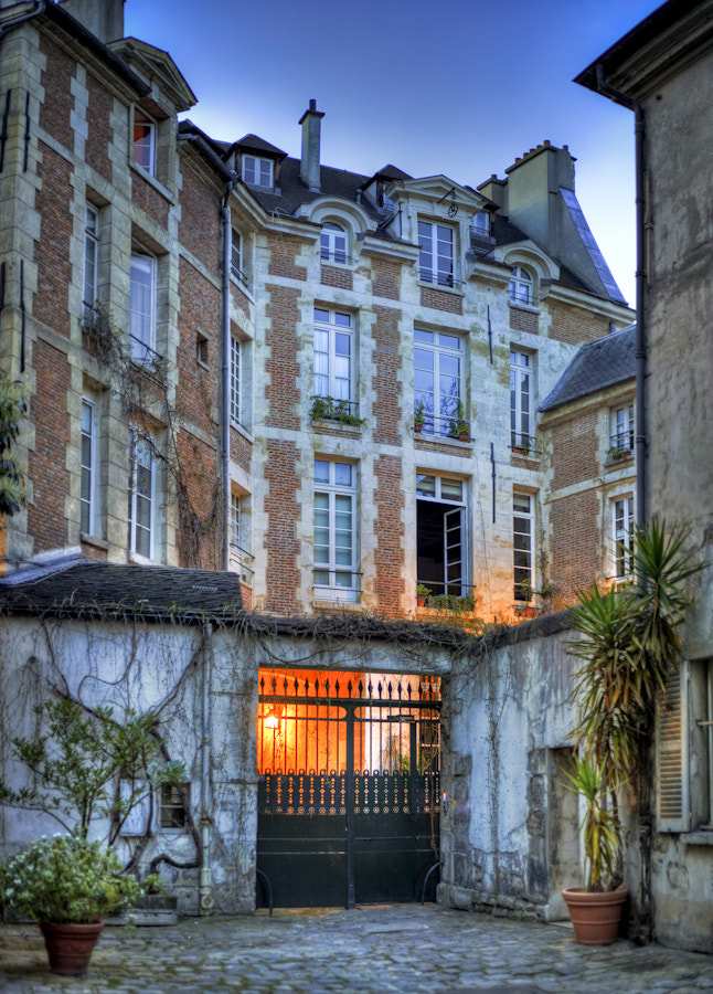 An old house in Paris
