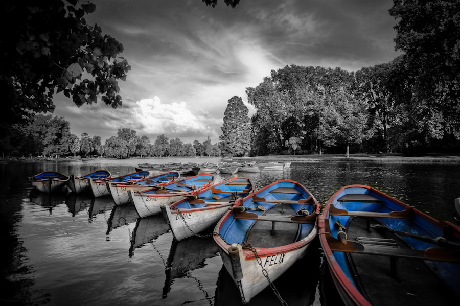 Photograph The barques of Vincennes by Ramelli Serge on 500px