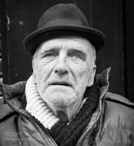 Photograph An East End man by Linda Wisdom on 500px