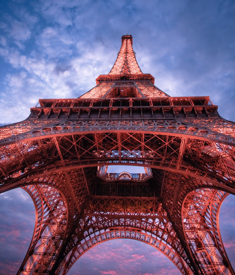 Photograph under the Eiffel Tower by Ramelli Serge on 500px