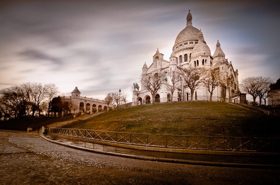 The Sacré Coeur in Paris