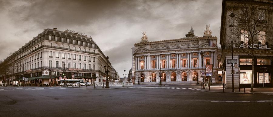 The Opéra garnier in paris Pano