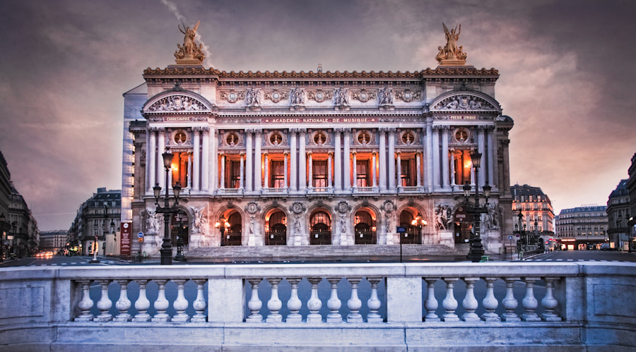 The Opera Garnier Paris