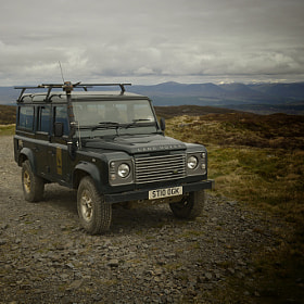 Our safari landrover