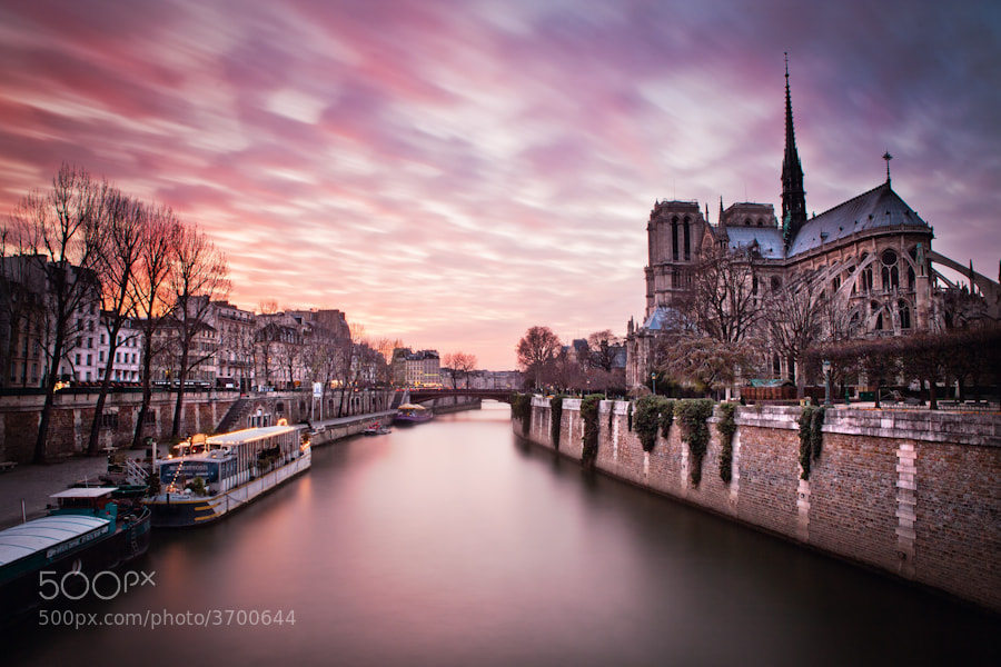 Photograph Notre Dame Paris longue Pause by Ramelli Serge on 500px