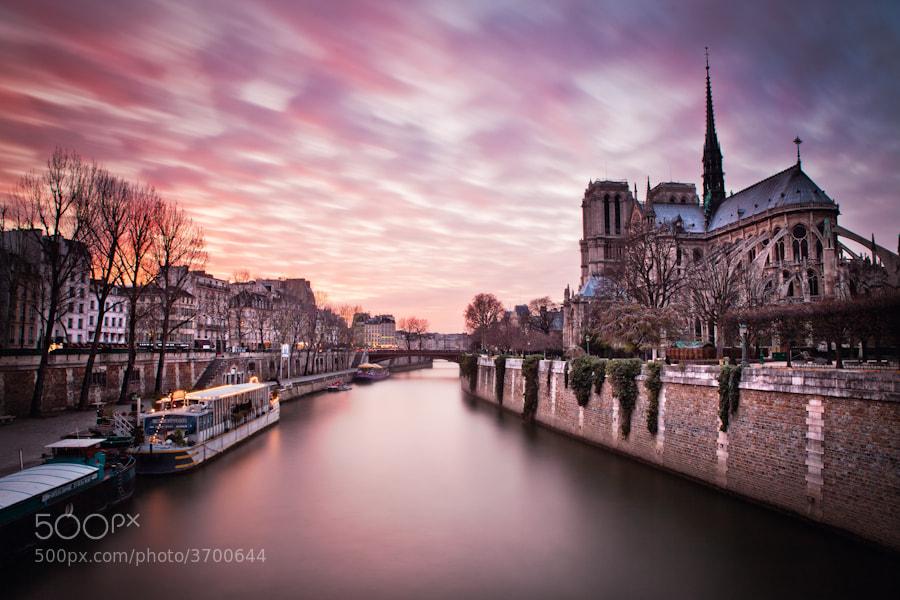 Photograph Notre Dame Paris longue Pause by Ramelli Serge on 500px
