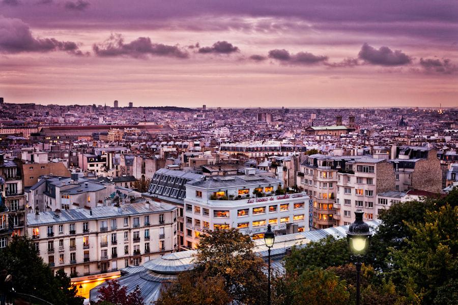 before sunset Paris
