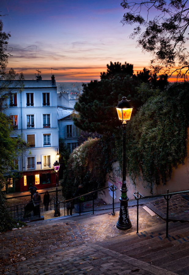 The stairs of Montmarte Paris I