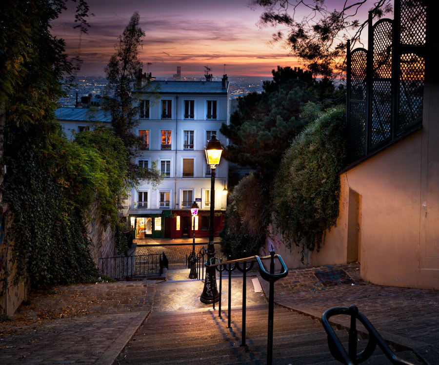 The stairs of Montmarte Paris II