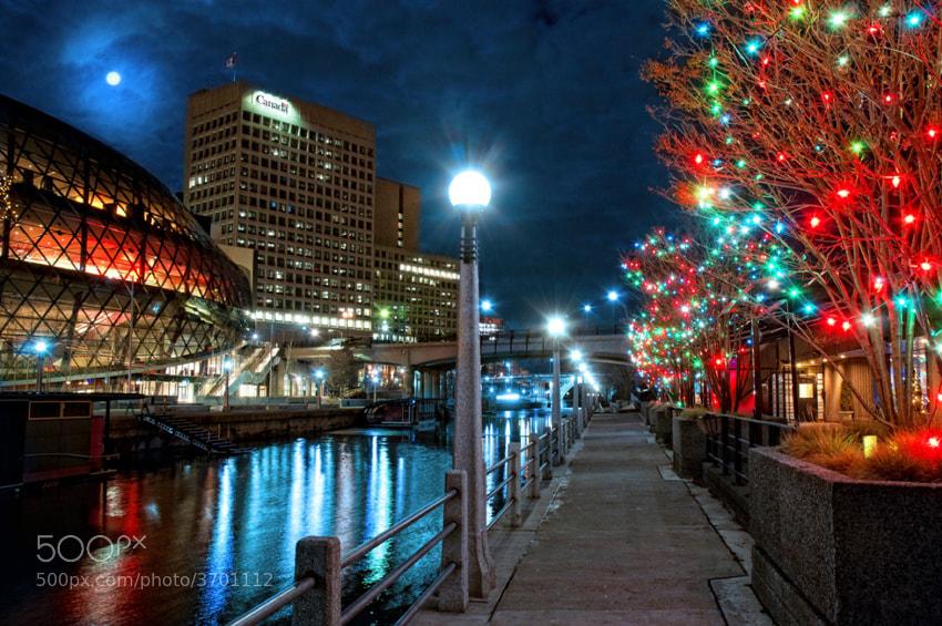 Photograph A Rideau Canal Christmas by Trevor Johnston / EyeMeetsWorld.com on 500px