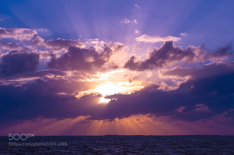Photograph Sunset in the hands of God by Natalya Laykina on 500px