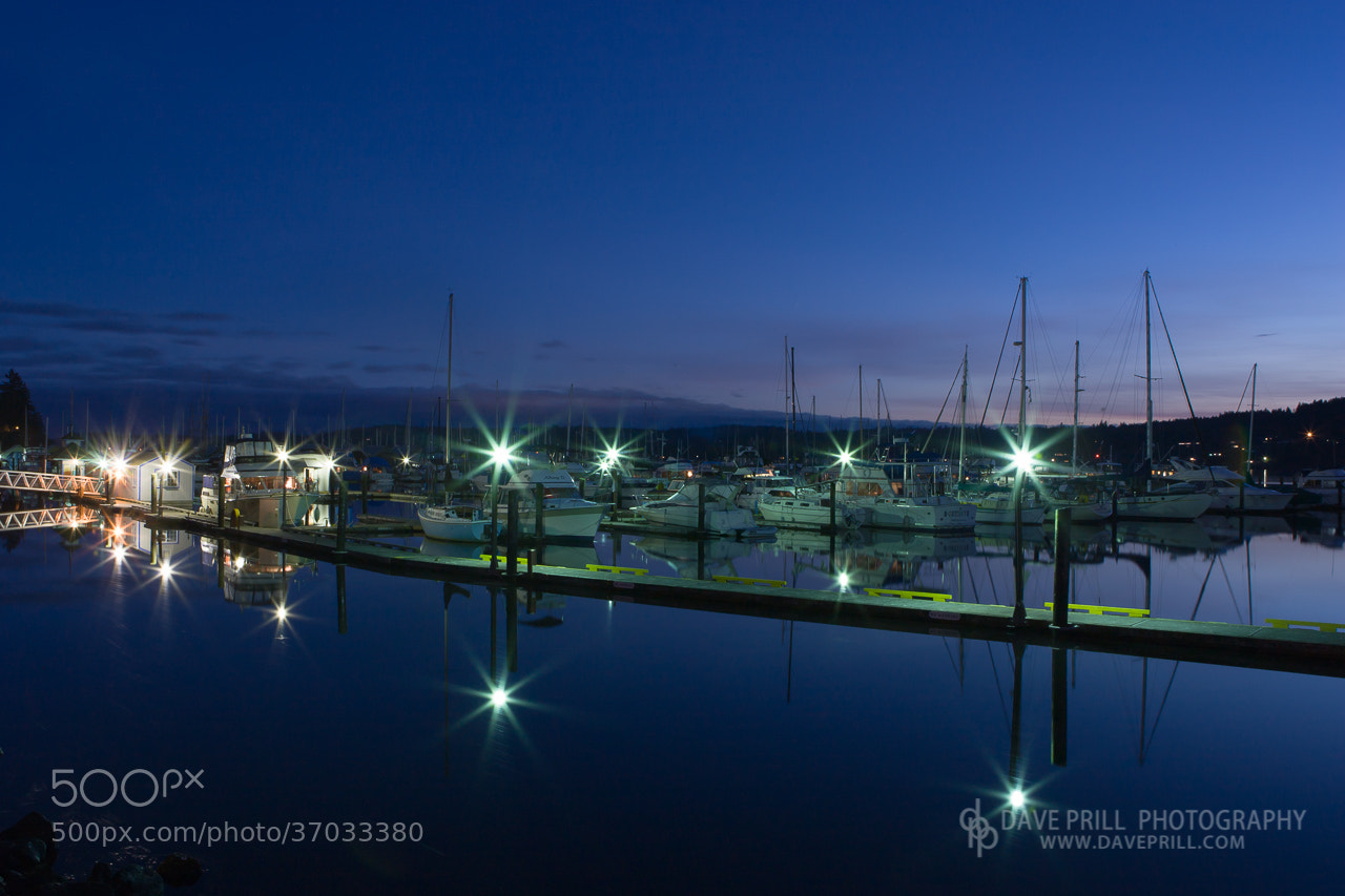 Photograph Poulsbo Marina Starburst by Dave Prill on 500px