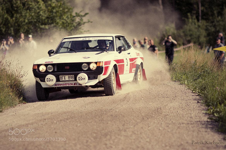 Photograph Celica 2000 GT 1973 by Patrik  Karlsson on 500px